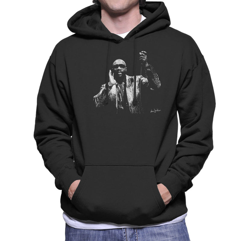 Isaac Hayes Kentish Town London 1989 Men's Hooded Sweatshirt - Don't Talk To Me About Heroes