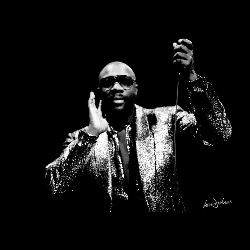 Isaac Hayes Kentish Town London 1989 Men's Vest - Don't Talk To Me About Heroes