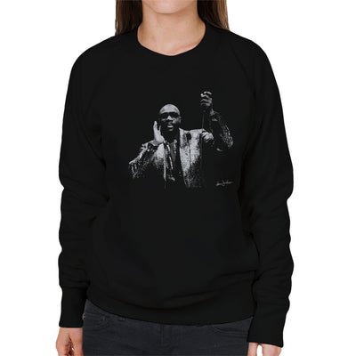 Isaac Hayes Kentish Town London 1989 Women's Sweatshirt - Don't Talk To Me About Heroes