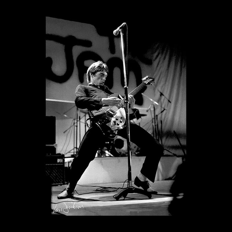 Paul Weller Rocking Out With The Jam 1977 Women's T-Shirt - Don't Talk To Me About Heroes