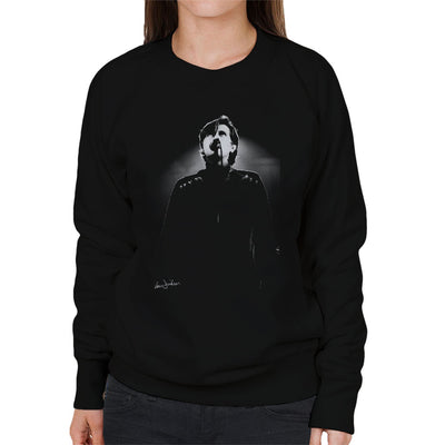 Bryan Ferry Of Roxy Music Rainbow Theatre London 1974 Women's Sweatshirt - Don't Talk To Me About Heroes