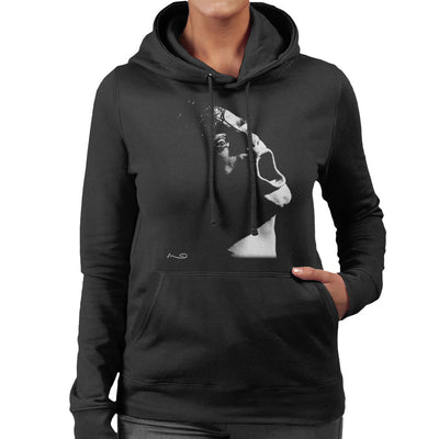 Henry Rollins Black Flag At The Gallery Manchester 1984 Women's Hooded Sweatshirt