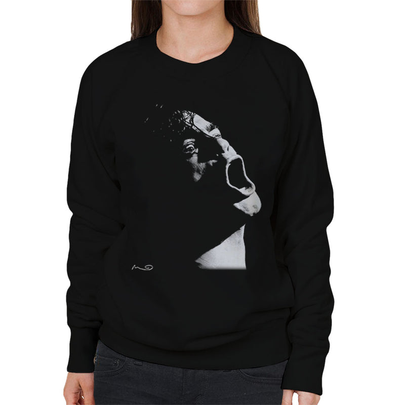 Henry Rollins Black Flag At The Gallery Manchester 1984 Women's Sweatshirt