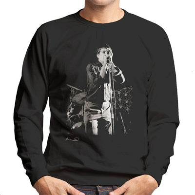 Ian Curtis Singing At Bowdon Vale Youth Club Joy Division Men's Sweatshirt