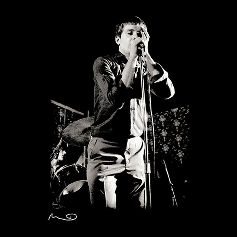 Ian Curtis Singing At Bowdon Vale Youth Club Joy Division Women's Vest