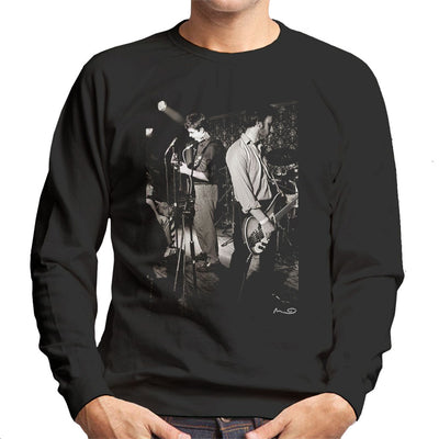 Ian Curtis And Peter Hook Of Joy Division Bowdon Vale Youth Club Men's Sweatshirt