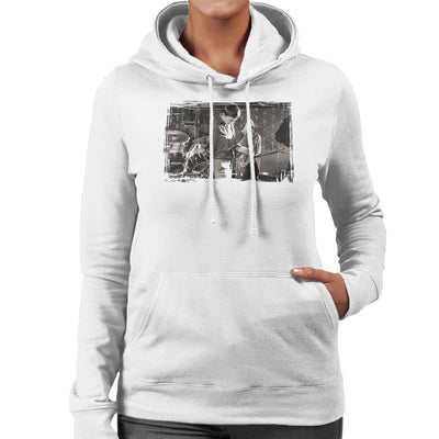 Joy Division At Bowdon Vale Youth Club Women's Hooded Sweatshirt