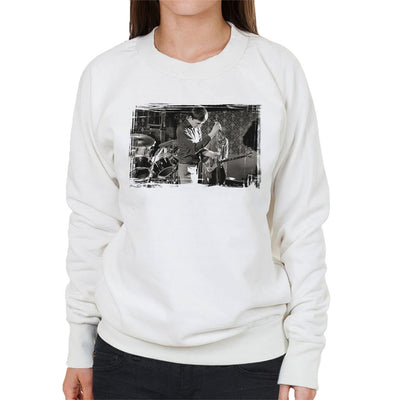 Joy Division At Bowdon Vale Youth Club Women's Sweatshirt