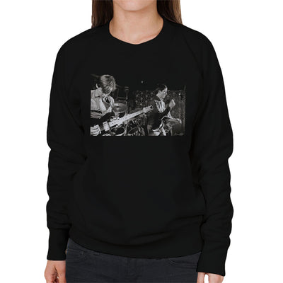 Joy Division Closeup Bowdon Vale Youth Club Women's Sweatshirt