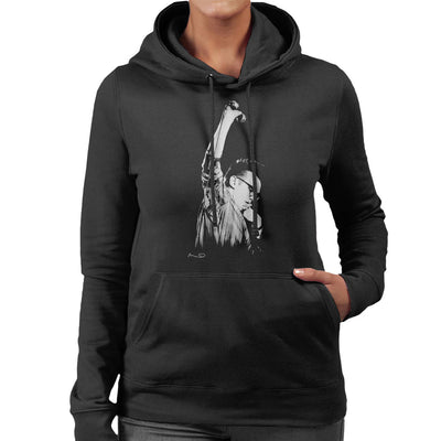 Morrissey Of The Smiths At Free Trade Hall Manchester Women's Hooded Sweatshirt