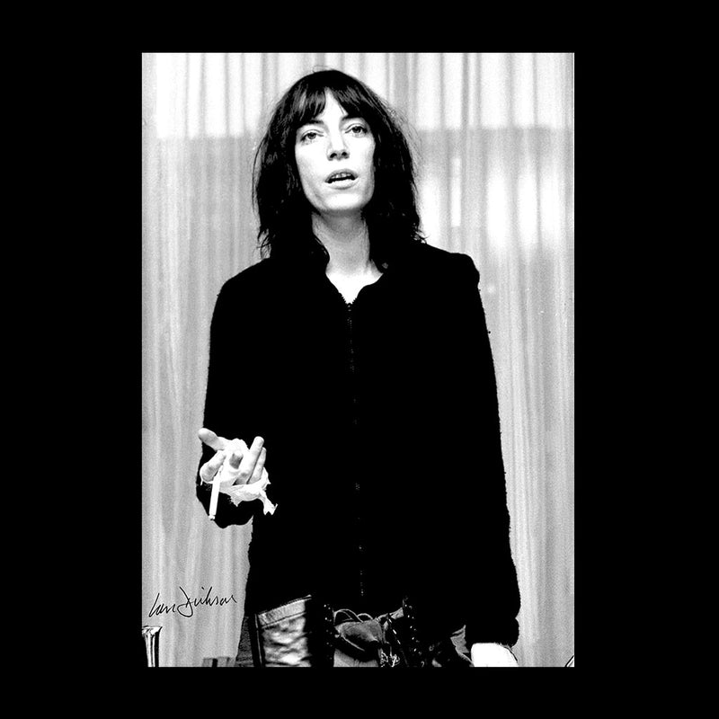 Patti Smith Smoking 1976