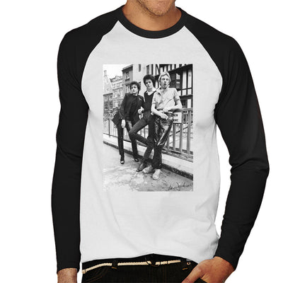 Siouxsie And The Banshees In London 1977 Men's Baseball Long Sleeved T-Shirt - Don't Talk To Me About Heroes