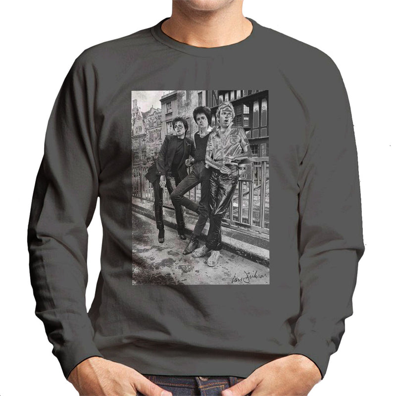 Siouxsie And The Banshees In London 1977 Men's Sweatshirt - Don't Talk To Me About Heroes