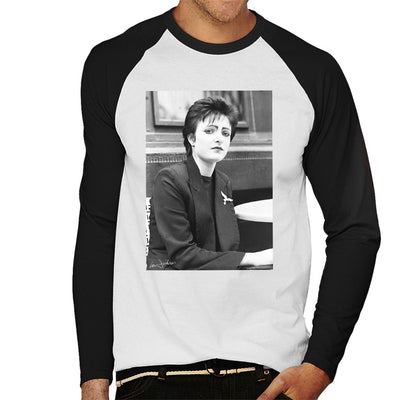 Siouxsie And The Banshees Side Profile 1977 Men's Baseball Long Sleeved T-Shirt