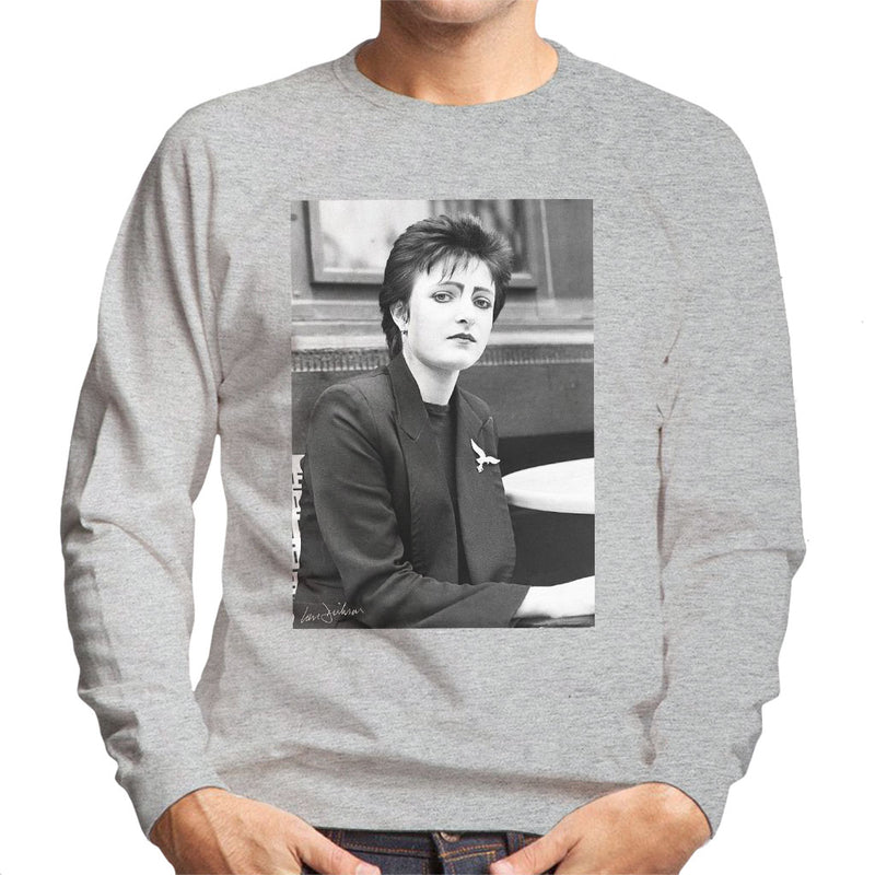 Siouxsie And The Banshees Side Profile 1977 Men's Sweatshirt - Don't Talk To Me About Heroes
