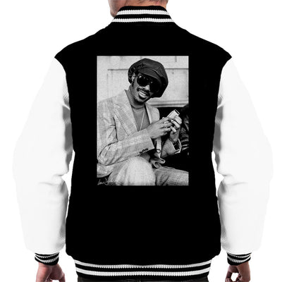 Stevie Wonder London Interview 1974 Men's Varsity Jacket - Don't Talk To Me About Heroes