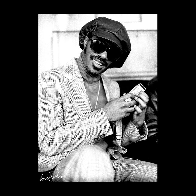 Stevie Wonder London Interview 1974 Women's Vest - Don't Talk To Me About Heroes