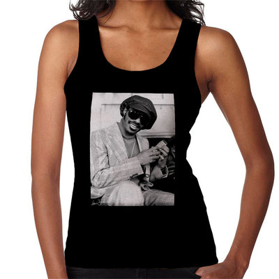 Stevie Wonder London Interview 1974 Women's Vest