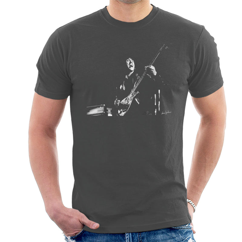 Thin Lizzy Phil Lynott 1976 Men's T-Shirt - Don't Talk To Me About Heroes