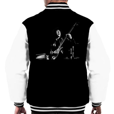 Thin Lizzy Phil Lynott 1976 Men's Varsity Jacket - Don't Talk To Me About Heroes