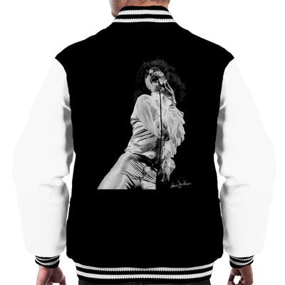 Uriah Heep David Byron 1973 Men's Varsity Jacket - Don't Talk To Me About Heroes