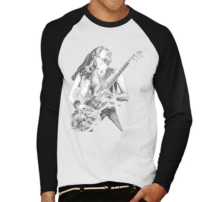 Uriah Heep Mick Box 1973 Men's Baseball Long Sleeved T-Shirt