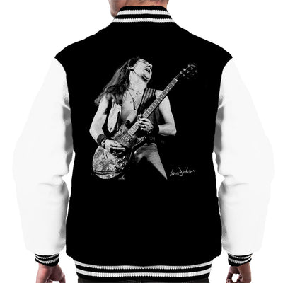 Uriah Heep Mick Box 1973 Men's Varsity Jacket - Don't Talk To Me About Heroes