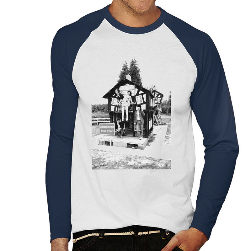 X Ray Spex Playground 1977 Men's Baseball Long Sleeved T-Shirt - Don't Talk To Me About Heroes