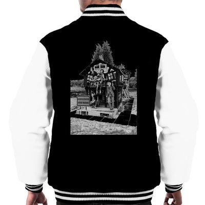 X Ray Spex Playground 1977 Men's Varsity Jacket - Don't Talk To Me About Heroes