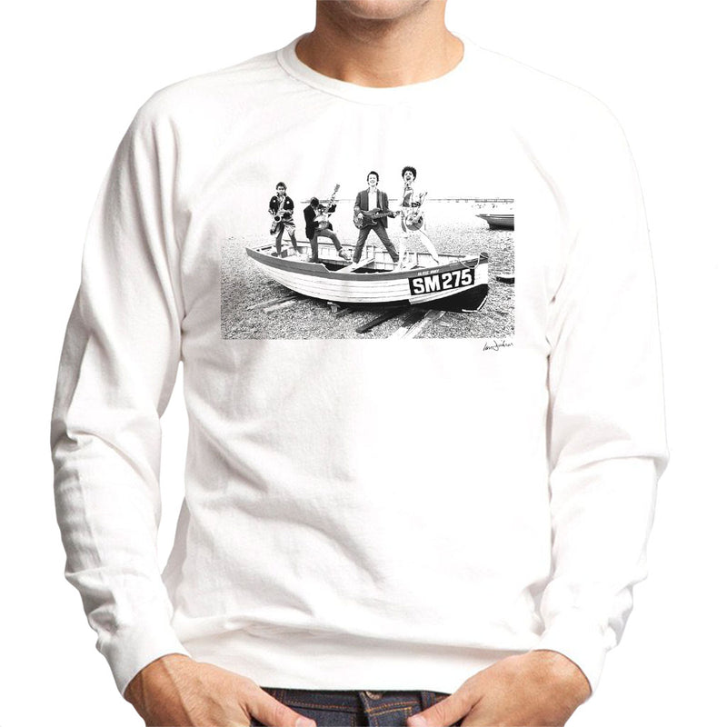 X Ray Spex Beach Photo Shoot 1977 Men's Sweatshirt - Don't Talk To Me About Heroes