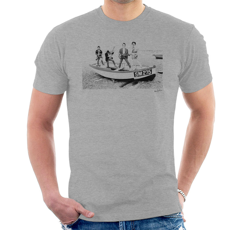 X Ray Spex Beach Photo Shoot 1977 Men's T-Shirt - Don't Talk To Me About Heroes