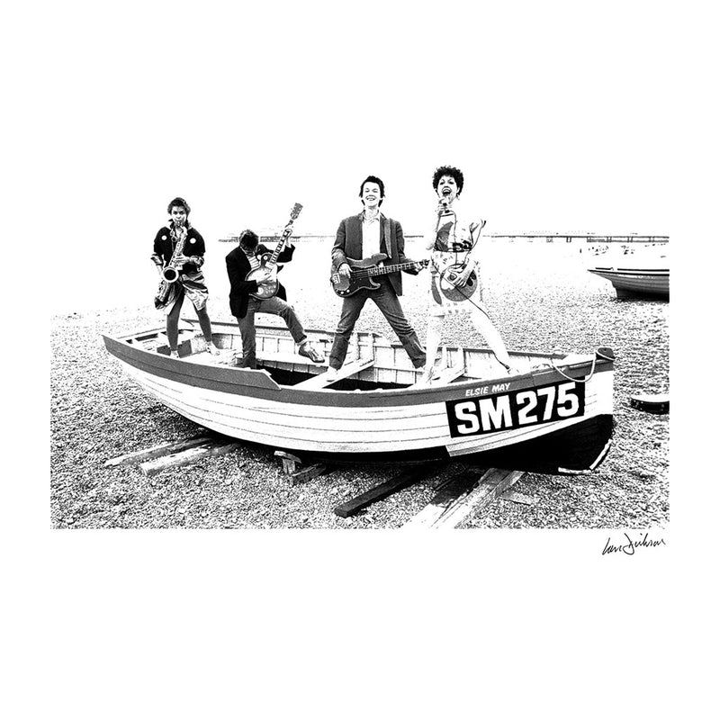 X Ray Spex Beach Photo Shoot 1977