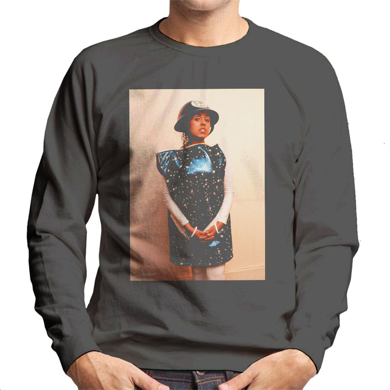 X Ray Spex Polly Styrene 1991 Men's Sweatshirt - Don't Talk To Me About Heroes