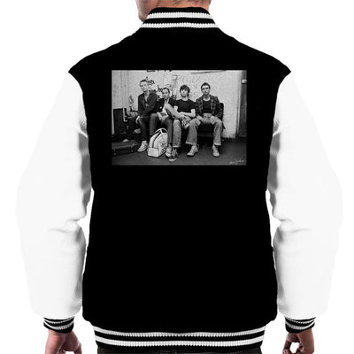 XTC Backstage 1977 Men's Varsity Jacket - Don't Talk To Me About Heroes