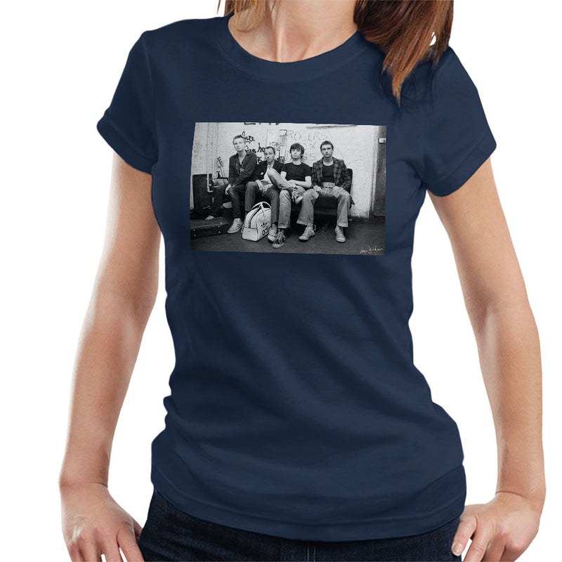 XTC Backstage 1977 Women's T-Shirt - Don't Talk To Me About Heroes