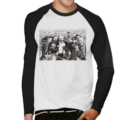 Bad Manners Band Shot Men's Baseball Long Sleeved T-Shirt