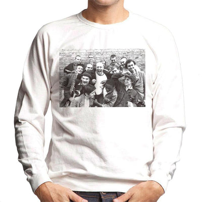 Bad Manners Band Shot Men's Sweatshirt - Don't Talk To Me About Heroes