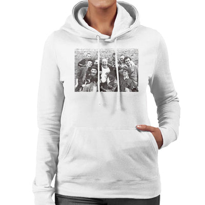 Bad Manners Band Shot Women's Hooded Sweatshirt - Don't Talk To Me About Heroes