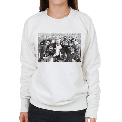 Bad Manners Band Shot Women's Sweatshirt - Don't Talk To Me About Heroes
