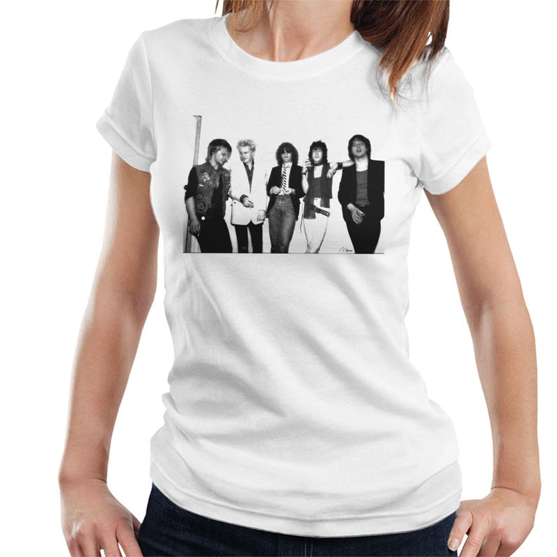 Generation X Backstage With Ian Hunter Women's T-Shirt - Don't Talk To Me About Heroes