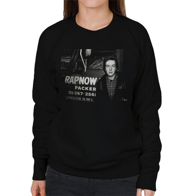 Joe Strummer The Clash Women's Sweatshirt - Don't Talk To Me About Heroes