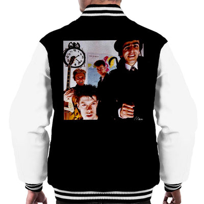Killing Joke Band Shot Men's Varsity Jacket - Don't Talk To Me About Heroes