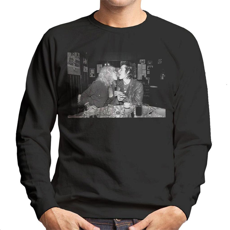 Sid Vicious And Nancy Spungen London 1978 Men's Sweatshirt - Don't Talk To Me About Heroes