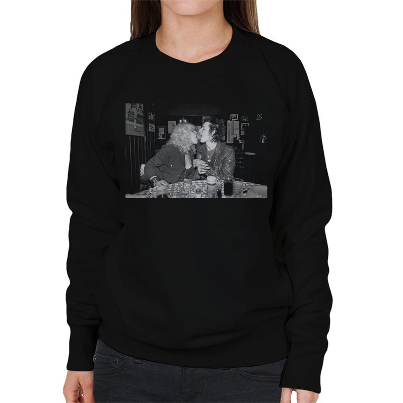 Sid Vicious And Nancy Spungen London 1978 Women's Sweatshirt