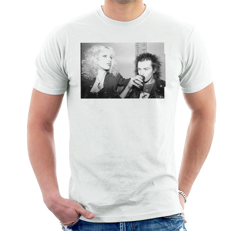 Sid Vicious And Nancy Spungen Drinking In London 1978 Men's T-Shirt - Don't Talk To Me About Heroes