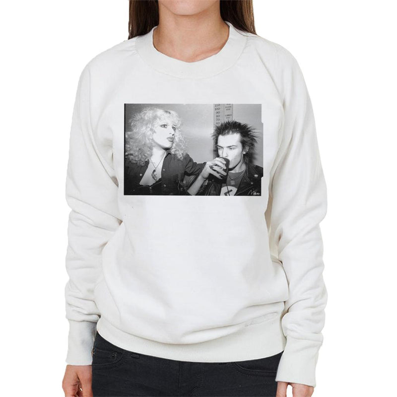 Sid Vicious And Nancy Spungen Drinking In London 1978 Women's Sweatshirt