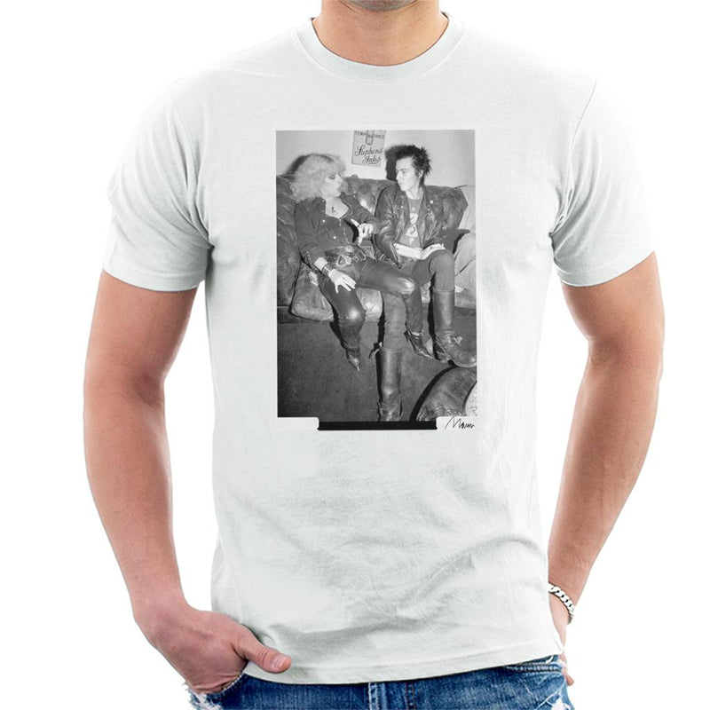 Sid Vicious And Nancy Spungen Hanging Out London 1978 Men's T-Shirt