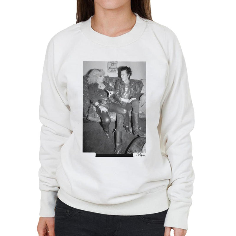 Sid Vicious And Nancy Spungen Hanging Out London 1978 Women's Sweatshirt