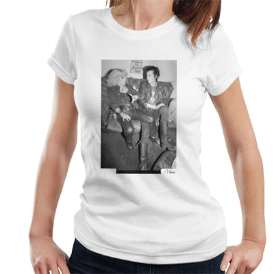 Sid Vicious And Nancy Spungen Hanging Out London 1978 Women's T-Shirt
