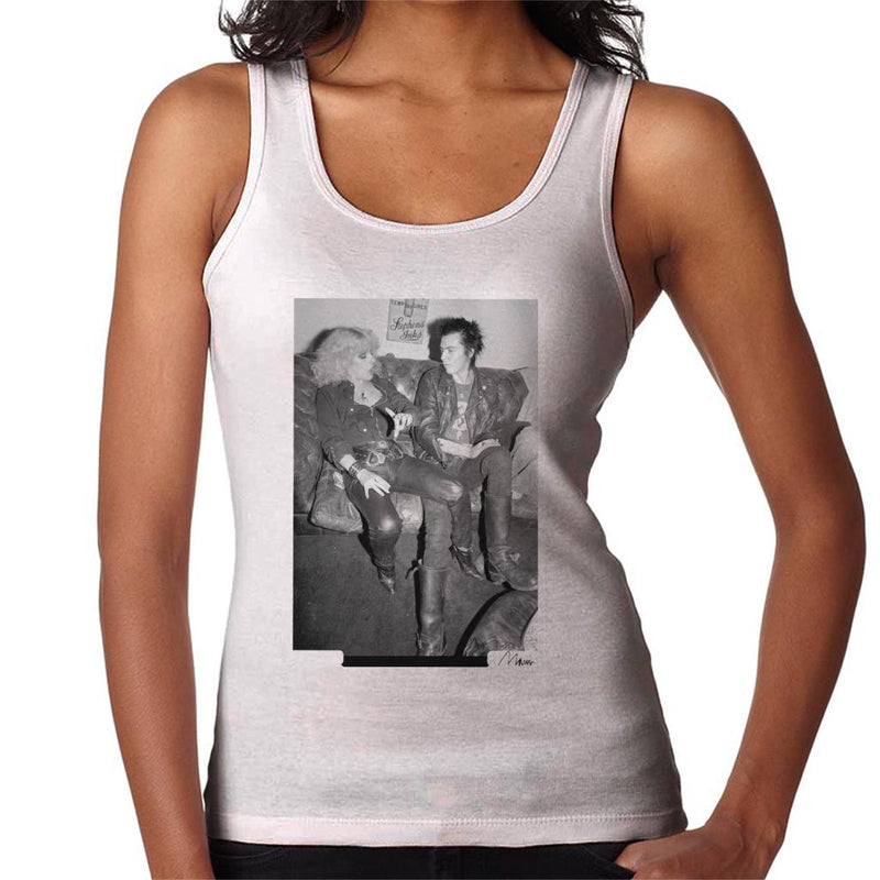 Sid Vicious And Nancy Spungen Hanging Out London 1978 Women's Vest - Don't Talk To Me About Heroes